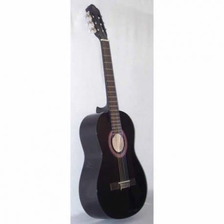 Guitarra Acústica SEGOVIA GUITARRA CLASICA NEGRA  CG-1BK - Envío Gratuito