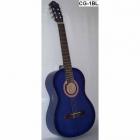 Guitarra Acústica SEGOVIA GUITARRA CLASICA CON RESAQUE AZUL MARINO  CG-1C BL