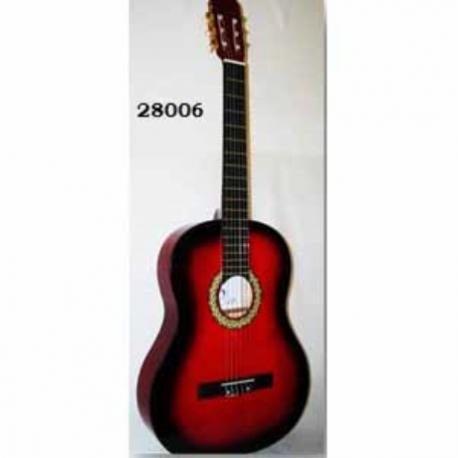 Guitarra Acústica SEGOVIA GUITARRA CLASICA ROJA SEGOVIA 28006 - Envío Gratuito