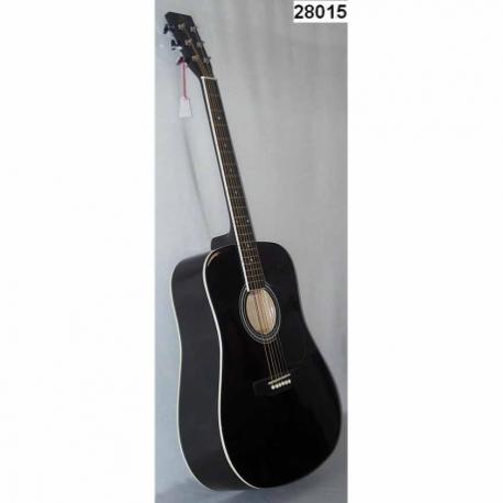 Guitarra Acústica SEGOVIA GUITARRA TEXANA NEGRA 6 CUERDAS 28015 - Envío Gratuito