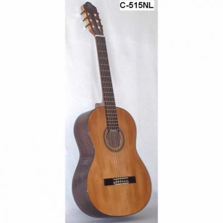 Guitarra Acústica SEGOVIA GUITARRA CLASICA MAD. SOLIDA DE PINO ABETO Y CAJA DE  C-515 NL - Envío Gratuito