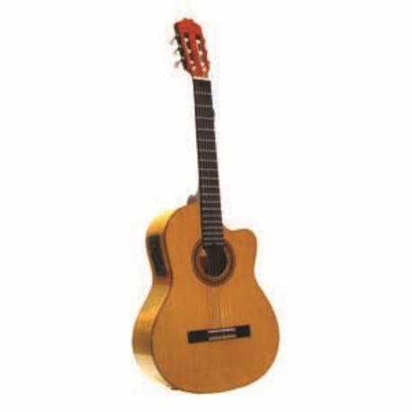Guitarra Acústica LA SEVILLANA GUITARRA LA SEVILLANA E/ACUSTICA MS71CEQ  ISSEVMS71CEQ - Envío Gratuito