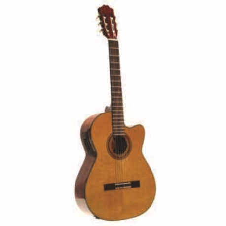 Guitarra Acústica LA SEVILLANA GUITARRA LA SEVILLANA E/ACUSTICA NS33CEQ  ISSEVNS33CEQ - Envío Gratuito