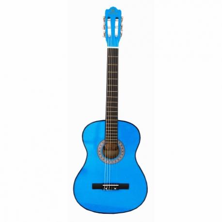 Guitarra Acústica SEGOVIA GUITARRA CLASICA AZUL SEGOVIA BL CON ALMA 39003 - Envío Gratuito