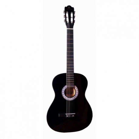 Guitarra Acústica SEGOVIA GUITARRA CLASICA NEGRA SEGOVIA BLACK CON ALMA 39004 - Envío Gratuito