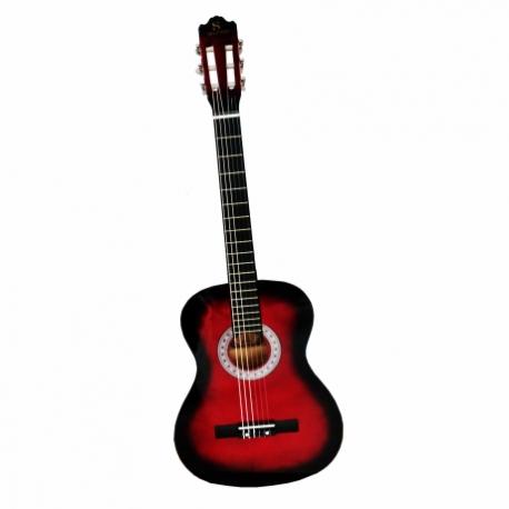 Guitarra Acústica SEGOVIA GUITARRA CLASICA ROJA SEGOVIA RDS CON ALMA 39005 - Envío Gratuito
