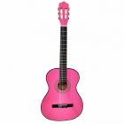 Guitarra Acústica SEGOVIA GUITARRA CLASICA ROSA SEGOVIA PK CON ALMA 39006
