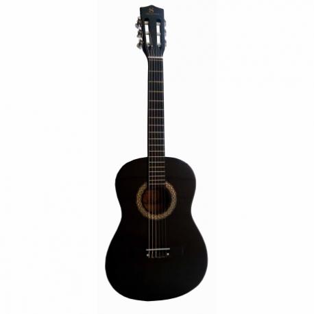 Guitarra Acústica SEGOVIA GUITARRA TERCEROLA NEGRA SEGOVIA BLACK CON ALMA 36005 - Envío Gratuito