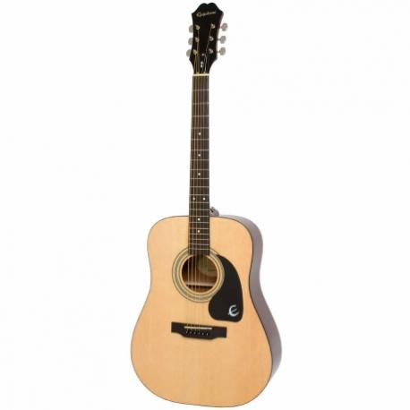 Guitarra Acústica EPIPHONE DR-100 Nat Ch Hdwe EA10NACH1 - Envío Gratuito
