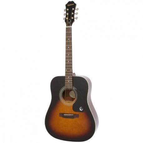 Guitarra Acústica EPIPHONE DR-100 Vint. Sunburst Ch Hdwe EA10VSCH1 - Envío Gratuito