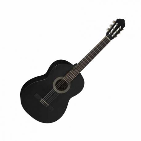 Guitarra Acústica CORT GUITARRA CLAS. T.PINO NGA. MATE C/FUNDA MOD. AC10 BKS  7000379 - Envío Gratuito