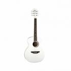 Guitarra Acústica LUNA GUITARRA ACUSTICA AURORA BOREAL BY LUNA, BCA. MOD. AR BOR WHT  7000251