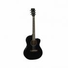Guitarra Acústica CORT GUITARRA ACUSTICA JADE1 NGA. C/FUNDA MOD. JADE1 BK  7000238
