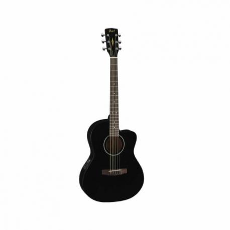 Guitarra Acústica CORT GUITARRA ACUSTICA JADE1 NGA. C/FUNDA MOD. JADE1 BK  7000238 - Envío Gratuito