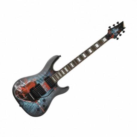 Guitarra Eléctrica CORT GUITARRA ELEC. NGA. MOD. KX5 FR-TF BK 8213332 - Envío Gratuito