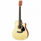 Guitarra Acústica SEGOVIA GUITARRA TEXANA MAD. SOLIDA DE PINO ABETO CAJA BASS AG-8CNL