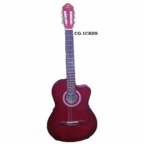 Guitarra Acústica SEGOVIA GUITARRA CLASICA CON RESAQUE VINO CG-1C RDS - Envío Gratuito