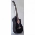 Guitarra Acústica SEGOVIA GUITARRA CLASICA CON RESAQUE NEGRA  CG-1CBK
