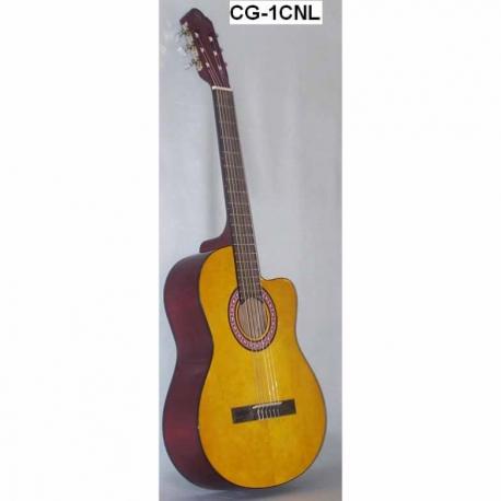 Guitarra Acústica SEGOVIA GUITARRA CLASICA CON RESAQUE TAPA NATURAL  CG-1CNL - Envío Gratuito