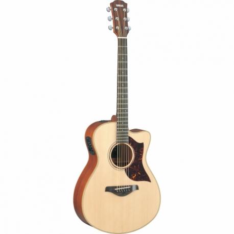 Guitarra Acústica YAMAHA Guitarra Electroacustuca serie A con caja de Caoba, sistema SRT GAC3M - Envío Gratuito