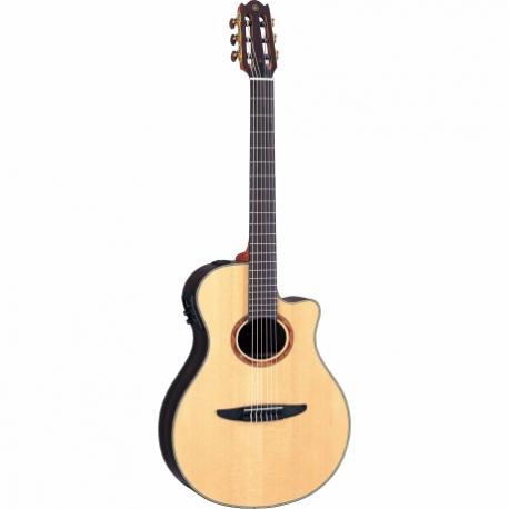 Guitarra Acústica YAMAHA Guitarra EA de cuerdas de nylon, costados y caja de palo de rosa con estuche  GNTX1200R - Envío Gratuit