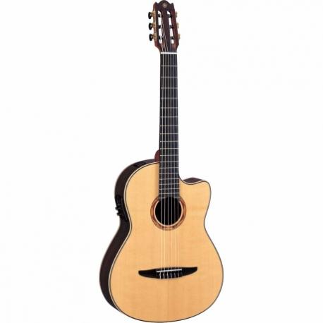 Guitarra Acústica YAMAHA Guitarra EA Japón de cuerdas de nylon, línea clásica, palo de rosa GNCX2000R - Envío Gratuito