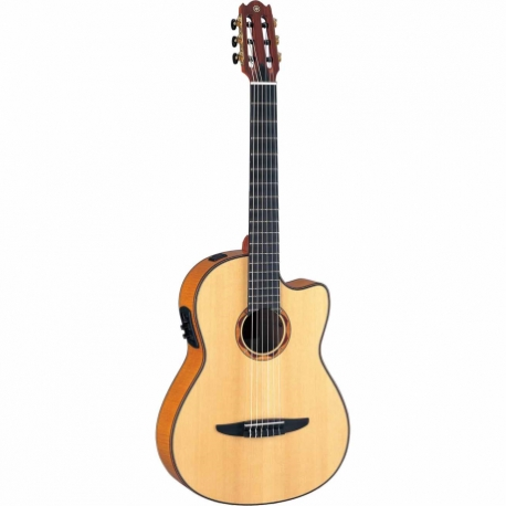 Guitarra Acústica YAMAHA Guitarra EA Japón de cuerdas de nylon, línea clásica, maple GNCX2000FM - Envío Gratuito