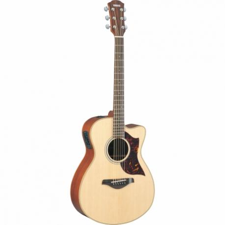 Guitarra Acústica YAMAHA Guitarra Electroacustuca serie A con caja de Caoba  GAC1M - Envío Gratuito