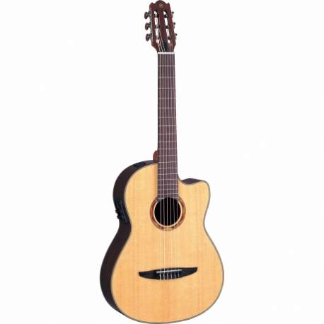 Guitarra Acústica YAMAHA Guitarra EA de cuerdas de nylon, costados y caja de palo de rosa  GNCX900R - Envío Gratuito
