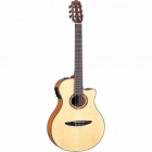 Guitarra Acústica YAMAHA Guitarra EA de cuerdas de nylon caja delgada aros y fondo de maple flameado GNTX900FM
