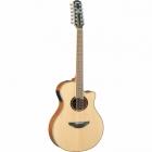 Guitarra Acústica YAMAHA Guitarra EA serie APX 12 cuerdas de acero, tapa sólida, 12 cuerdas GAPX700II-12