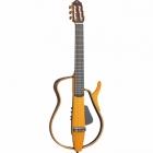 Guitarra Acústica YAMAHA Guitarra silent cuerdas de Nylon, diapasón Ebano, color Ambar Quemado GSLG130N
