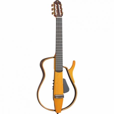Guitarra Acústica YAMAHA Guitarra silent cuerdas de Nylon, diapasón Ebano, color Ambar Quemado GSLG130N - Envío Gratuito