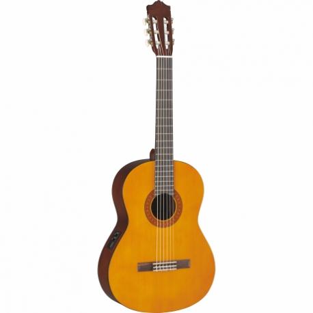 Guitarra Acústica YAMAHA Guitarra Clásica Electroacústica serie C (igual a C40, preamp pasivo) GCX40 02 - Envío Gratuito