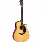 Guitarra Acústica YAMAHA Guitarra Folk EA tapa sólida, Natural GFGX720SC 02