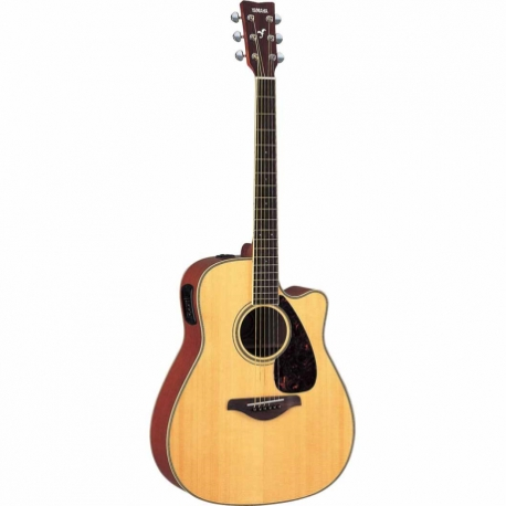 Guitarra Acústica YAMAHA Guitarra Folk EA tapa sólida, Natural GFGX720SC 02 - Envío Gratuito