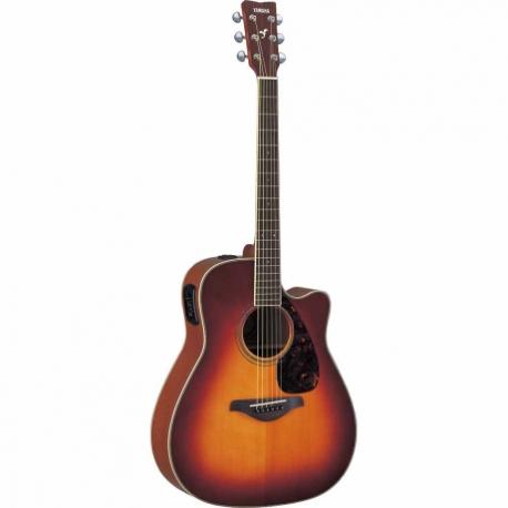 Guitarra Acústica YAMAHA Guitarra Folk EA tapa sólida, Sombreada GFGX720SCBS 02 - Envío Gratuito