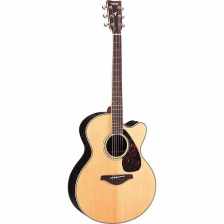 Guitarra Acústica YAMAHA Guitarra Folk Jumbo EA tapa sólida, Natural  GFJX730SC - Envío Gratuito