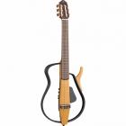 Guitarra Acústica YAMAHA Guitarra silent cuerdas de Nylon con DSP Yamaha (chorus y eco)  GSLG110N