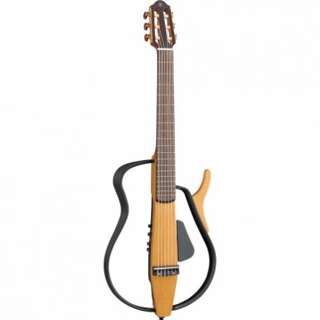 Guitarra Acústica YAMAHA Guitarra silent cuerdas de Nylon con DSP Yamaha (chorus y eco)  GSLG110N - Envío Gratuito