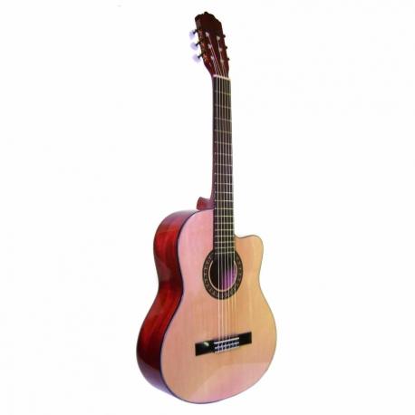 Guitarra Acústica LA SEVILLANA GUITARRA LA SEVILLANA CLASICA N-6C ISSEVN6C - Envío Gratuito