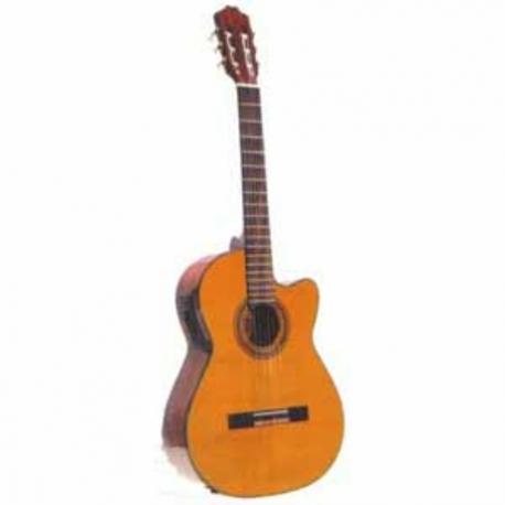 Guitarra Acústica LA SEVILLANA GUITARRA LA SEVILLANA E/ACUSTICA L-5CEQ  ISSEVL5CEQ - Envío Gratuito