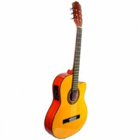 Guitarra Acústica LA SEVILLANA GUITARRA LA SEVILLANA E/ACUSTICA UL-5CEQ  ISSEVUL5CEQ - Envío Gratuito