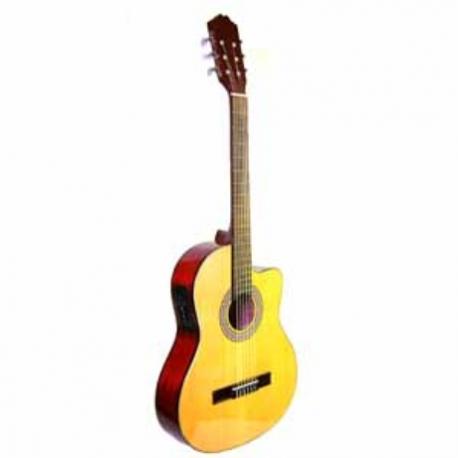 Guitarra Acústica LA SEVILLANA GUITARRA LA SEVILLANA E/ACUSTICA UN-3CEQ  ISSEVUN3CEQ - Envío Gratuito