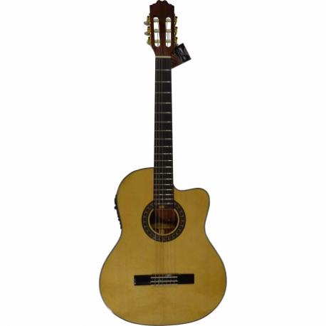 Guitarra Acústica LA SEVILLANA GUITARRA LA SEVILLANA E/ACUSTICA UR-6CEQ ISSEVUR6CEQ - Envío Gratuito