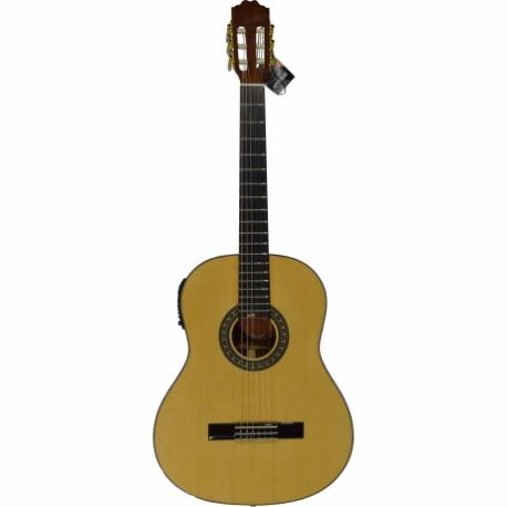 Guitarra Acústica LA SEVILLANA GUITARRA LA SEVILLANA E/ACUSTICA UR-6EQ  ISSEVUR6EQ - Envío Gratuito