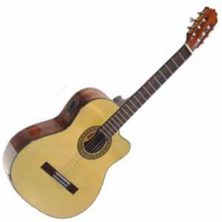 Guitarra Acústica LA SEVILLANA GUITARRA LA SEVILLANA E/ACUSTICA N-6CEQ  ISSEVN6CEQ - Envío Gratuito