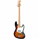 Bajo Eléctrico Fender Standard Jazz Bass® Maple Fingerboard Brown Sunburst 3-Ply Parchment Pickguard No Bag  0146202532 - Envío