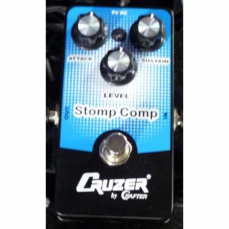 Amplificador de Guitarra CRUZER PEDAL CRUZER MOD. EF-CM COMPRESSOR VACRZEFCM - Envío Gratuito
